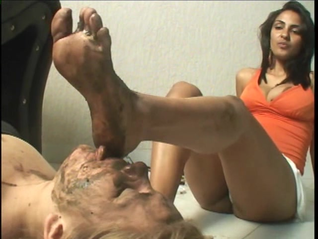 Dirty Feet Domination in The Motel