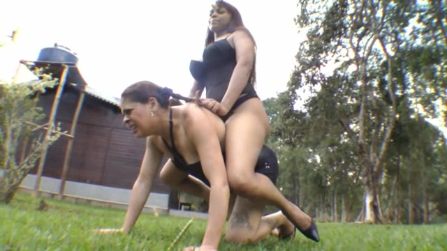 Pony Domination in The Outdoor