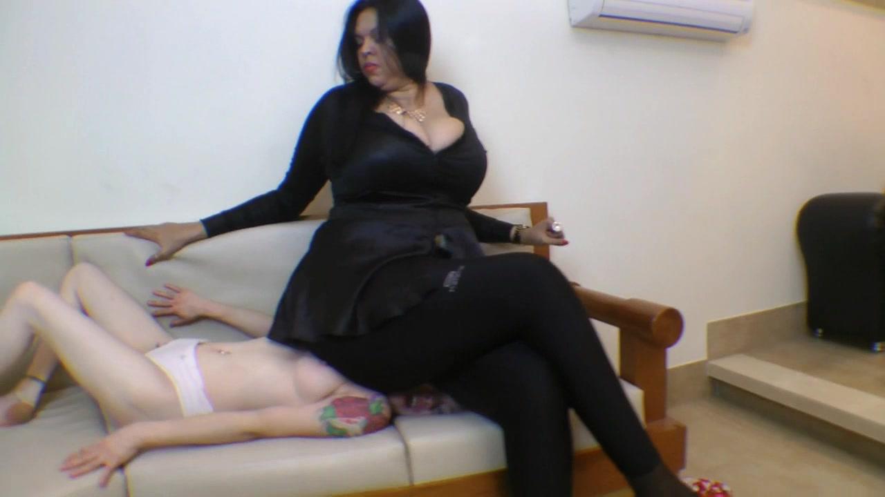 Amazon Cinthia Squashed Skinny Girl In Sofa