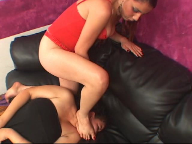 Karate Foot Domination To Ugly Slave Girl