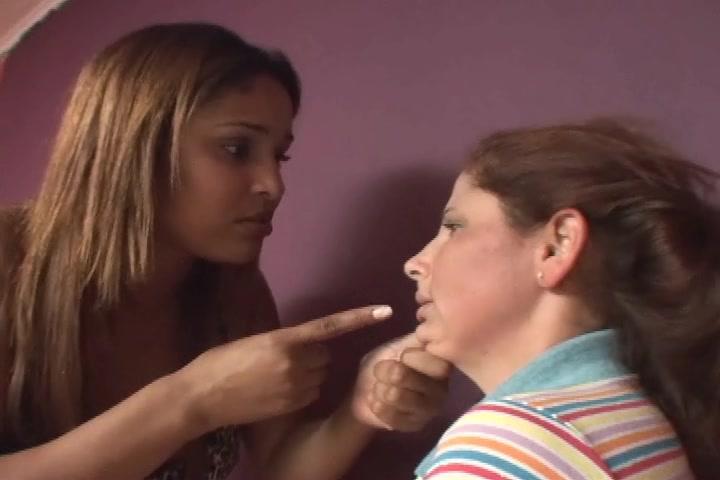 Giant Barbara Slap Face And Domination Launna